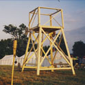 Northshield's Siege Tower at Pennsic 27 (1997)