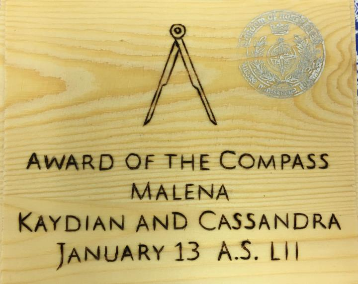 Compass, Award of the